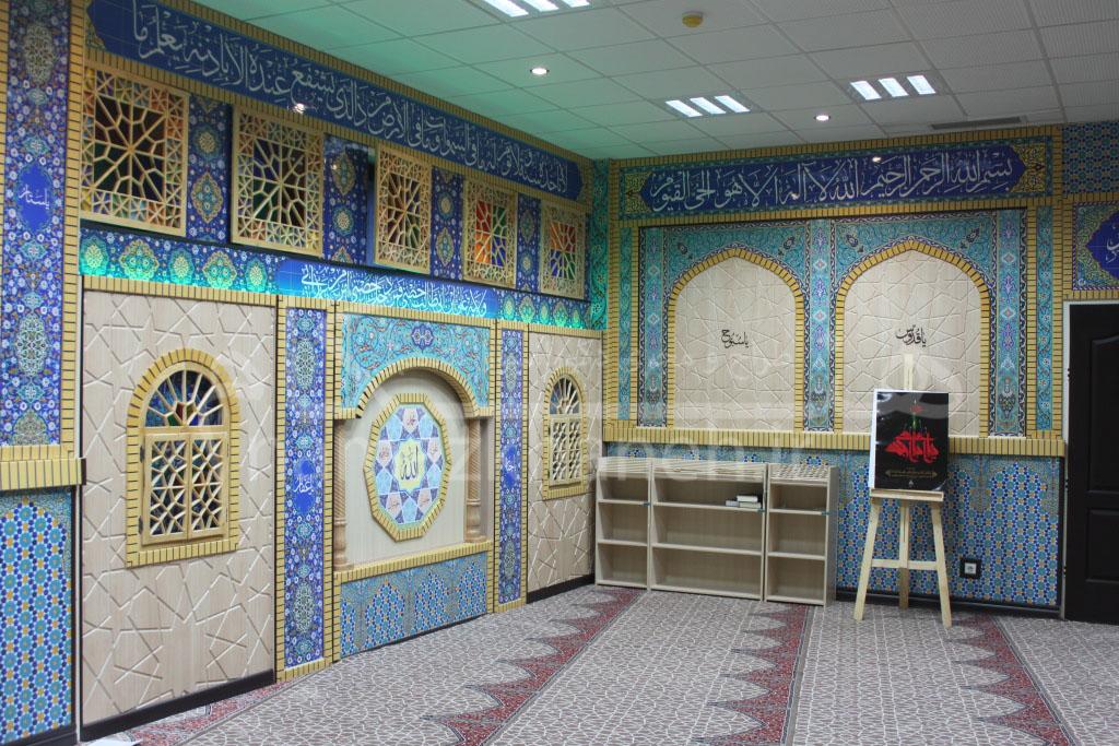 دکور مذهبی نمازخانه