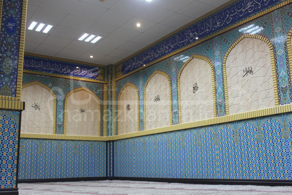 دیوار پوش سنتی مسجد